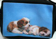 insulinpumpetaske til børn med hundehvalpe fra pump wear