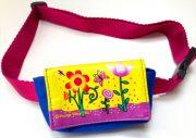 insulinpumpetaske til børn med blomstermotiv fra pump wear